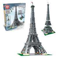 DHL Lepin 17002 3478Pcs The Legoingly 10181 Paris Eiffel Tower Set Model Building Blocks Bricks As Birthday Gifts Toys For Kids