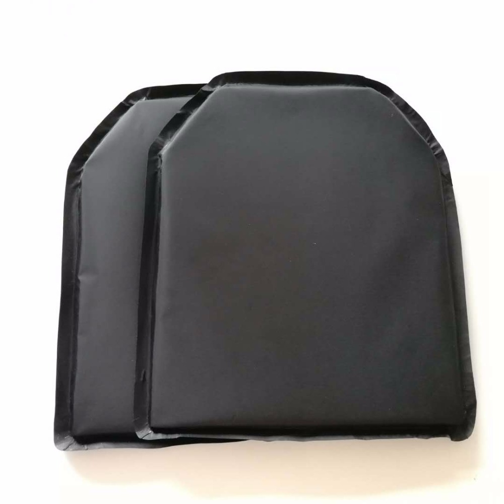 2Pcs 11'' X 14'' Shooters Cut Aramid Bullet Proof Soft Panel Ballistic Plate Self Defense Inserts Body Armor Level NIJ IIIA 3A
