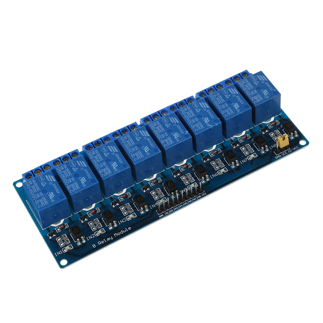 Hot Sale 5V Electronic Relay Module 8 Channel Shield for 51 AVR ARM