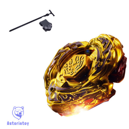 2015 toy by blade for sale Metal Fusion 4D set L-DBAGO GOLD DF105LRF kids game toys Christmas gift gyroscope image