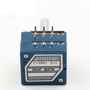 Image 3 - Lusya orijinal japonya ALPS RK27 çift ses potansiyometre 10k 50K 100k yuvarlak kolu hifi amplifikatör A9 013