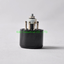 1pc 8pin Noval Vacuum Tube Saver Socket Testing 6L6 6V6 KT88 6550 Audio Amps Socket psvane uk kt88 vacuum tube valve power tube replace 6550 vintage hifi audio tube amp diy factory test match