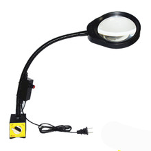 Multi-function Magnetic Base With LED lamp Magnifier PD-032B 10X
