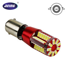 Aeing 1 peça t11 t4w w6w h6w ba9s 3014 57smd canbus led livre de erros led porta cunha ler lâmpada luz xenno branco vermelho azul