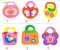 4pcs/lot Make Cartoon Cute handmade 3D eva handbags EVA Foam Craft Kits high quality Bags kids Girl