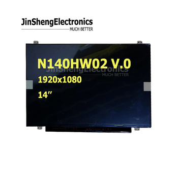 N140HW02 V.0 4 FHD Screen Touch Panel display 14''inch IPS laptop screen touch LCD display