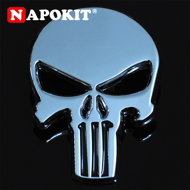 NEW 3D Metal Car Emblem Sticker Decal Badge For Car truck Auto Motorcycle Silver