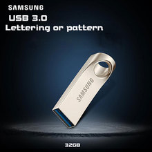 SAMSUNG USB Flash Drive USB 3.0 32GB pen drive Metal lettering U disk cle usb Pendrives flash usb Memory Stick 32gb pendrive