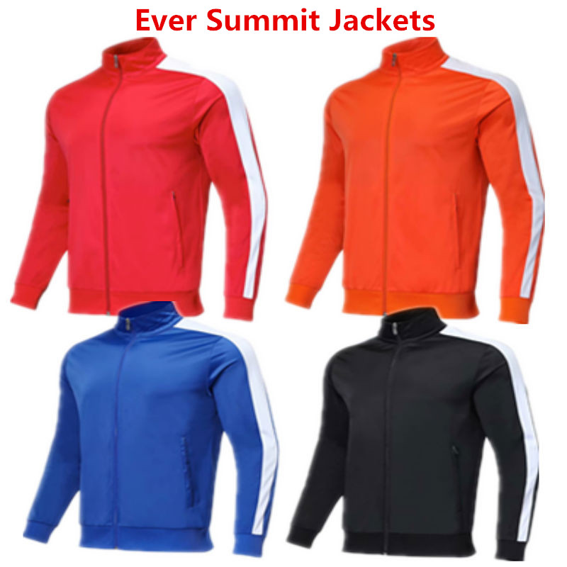 Ever Summit Jackets For DIY Customize Team Tracksuits Soccer Sweater Football 18 19 Training Sets Adult
