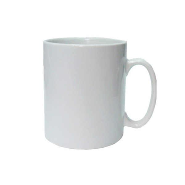 Keramik Sublimasi Mug Putih Kosong Dilapisi Mug Foto Kustom Piala Pribadi Mug