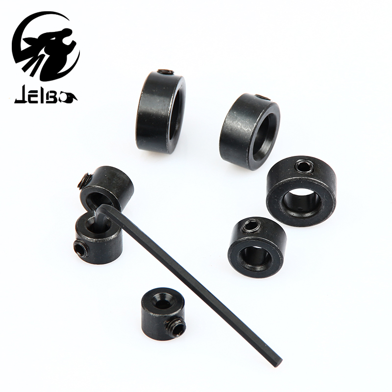 Jelbo Wrench+Drill Bit Collar Ring 7pc Drill Bit Tools 3-12mm Depth Stop Positioner Spacing Ring Woodworking Drill Bit jelbo cone step drill hole tools countersink 3pc drill bit set power tools step drill bit for metal power tools set hole cutter