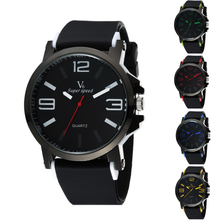 1 unid Grandes Hombres de Línea Relojes de estudiantes masculinos Regalo de moda Deportes de Pulsera de Cuarzo Militar Del Ejército relojes de pulsera Relogios masculino H3
