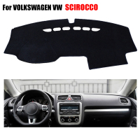 Car Dashboard Covers Mat For VOLKSWAGEN VW SCIROCCO All The Years Left Hand Drives Dashmat Car