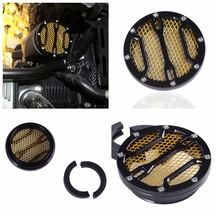 frame hole caps decor cover protector kit for bmw r1200 r nine t 2014 2015 2016 motorcycle accessories parts For BMW R nine t Air Intake Cover CNC Air intake Filter Black Gold For R 9 T R9T 2013 2014 2015 2016 2017 motorcycle parts