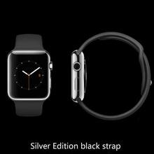 Iwo 1:1 smart watchดีกว่าip65กันน้ำบลูทูธชาร์จคริสตัลแซฟไฟร์werableอุปกรณ์pk apple watch kw88ดีเซลrelógio