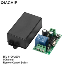 433 MHz AC 85V 110V 220V 1 CH Wireless Remote Control Receiver Relay Switch Module LED Light Lamp Controller 433.92