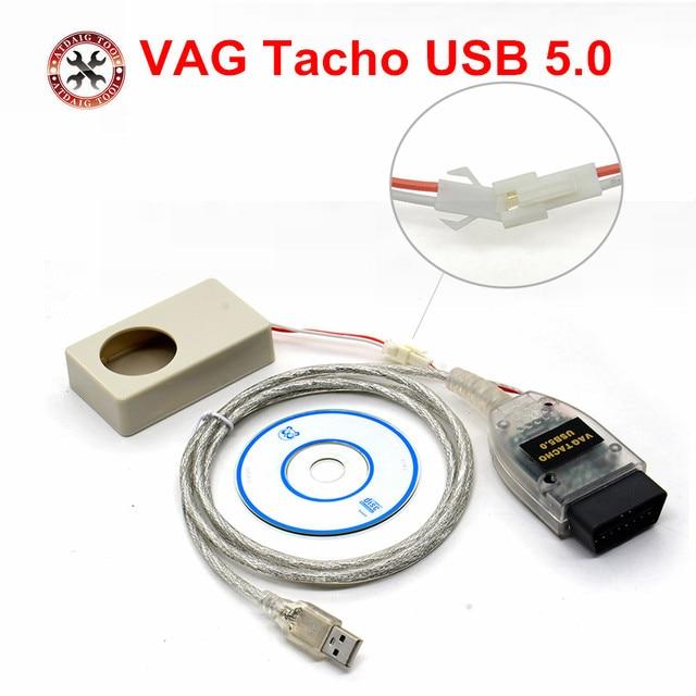Vag tacho USBรุ่นV 5.0 VAG T AchoสำหรับMCU NEC 24C32หรือ24C64ที่มีราคาที่ดีที่สุดVAG T Acho