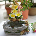 The water fountain waterscape decoration office desktop aquarium decorations Home Furnishing bonsai creative ornaments