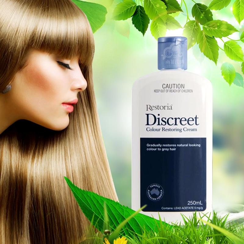 Restoria Discreet Colour Restoring Cream Lotion Hair Care 250ml