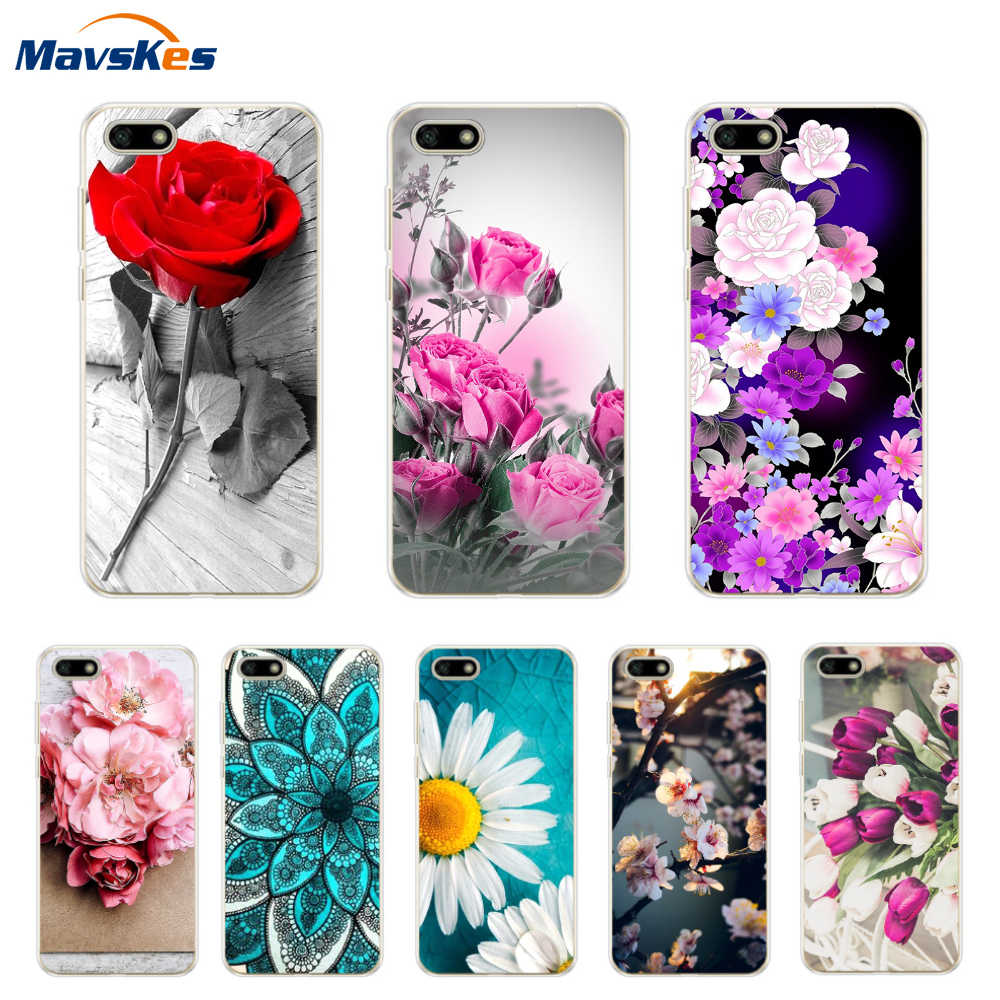 For on Honor 7A Case Silicone Cover For on Honor 7A Russian Version Case DUA-L22 5.45 Protective For Huawei P Smart Phone Cases