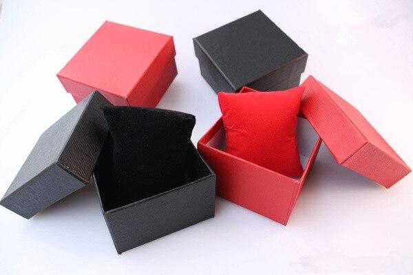Caixa de Presente Caixas de Relógio por Atacado 85*80*55mm de Fábrica Cor da Mistura Atacado Lote Tamanho 12 Pçs –