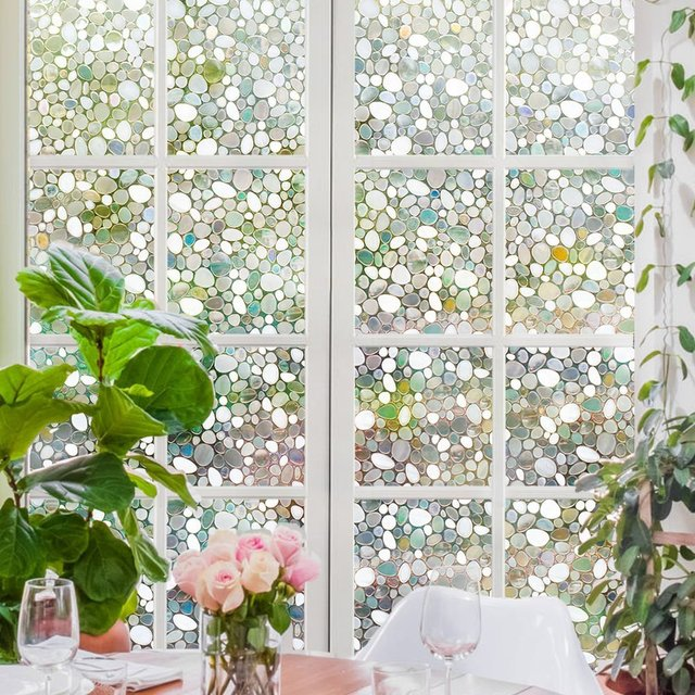 privacy window film home privacy window film decorative films static cling 177in by 787in 177in