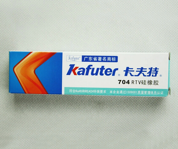Retail / Wholesale High Quality Kafuter 704 RTV Silicone Electronic Sealant Organic Silicone Adhesive Glue