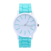 JOCESTYLE Fashion Women Silicone Watch Hot Casual Quartz Watch Ladies Wrist Watch Relogio Feminino Montre Femme Student Watches