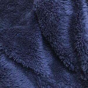 Image 5 - Männer Plüsch Teddy Fleece Pyjamas Winter Warme Pyjamas Insgesamt Anzüge Plus Größe Nachtwäsche Kigurumi Kapuzen Pyjama Sets Für Erwachsene Männer
