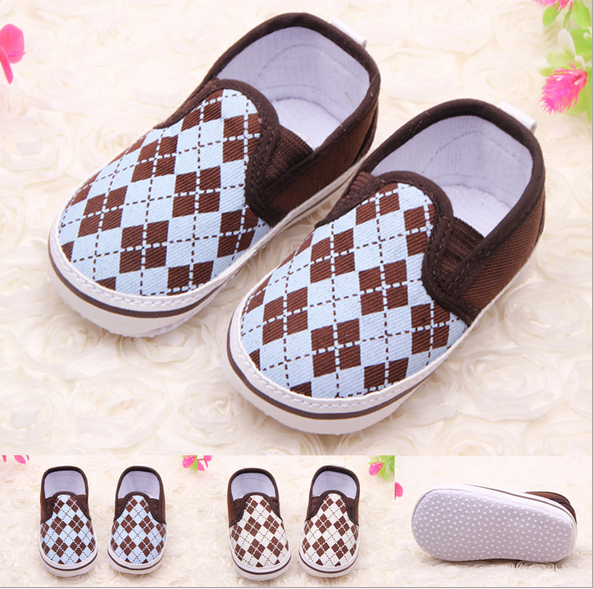 Baby Shoes Fashion Spring&Autumn Cool Plaid Antiskid Soft Bottom Toddlers Shoes Baby First Walkers стоимость