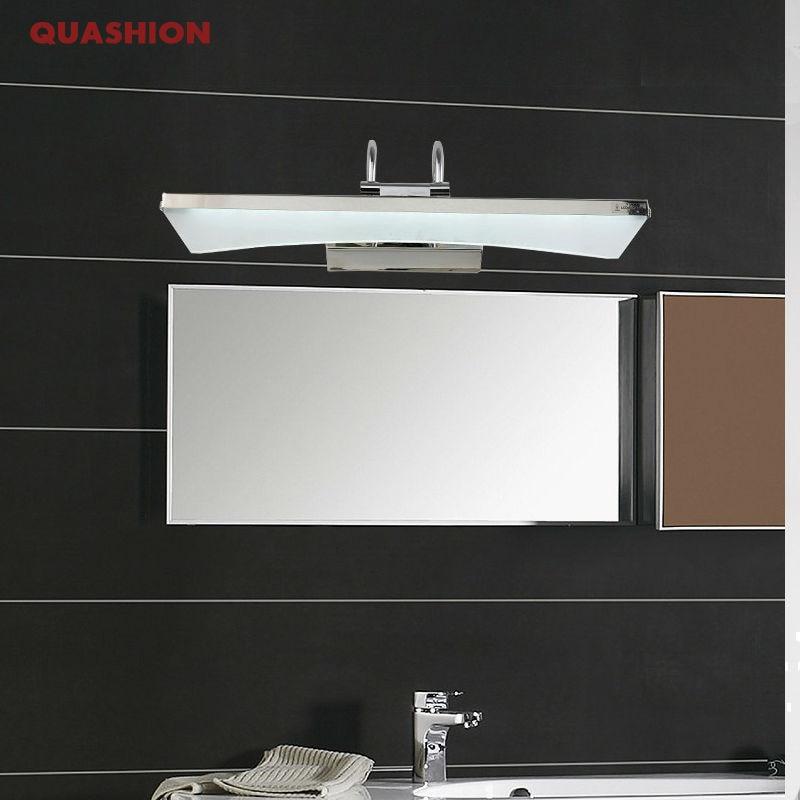 Mirror light led bathroom wall lamp mirror acrylic waterproof anti-fog brief modern stainless steel cabinet led light кроющий антисептик д дерева vinha vc 9 л