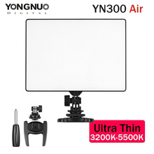 YONGNUO YN300 Air LED Lamp Video Light Lights Photographic Lighting 3200K-5500K for Photo Studio DSLR Camera Camcorder