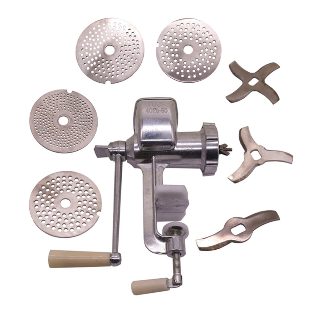 2 sets Bird Manual Feed Processing Machine 1 5 2 0 2 5 3MM Extrusion Stainless