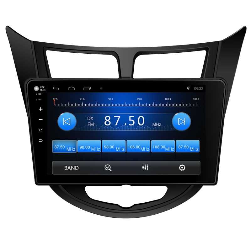 10 2 quot Android 6 0 Car DVD PC Multimedia DVD Player GPS Navi Stereo Radio Fit Hyundai Verna Accent Solaris 2011 2018 3G WIFI OBD in Car Multimedia Player from Automobiles amp Motorcycles