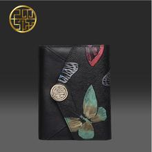 Women bag    Pmsix embossed envelope package Clutch Wallet Short wallet Fashion original design small money clip
