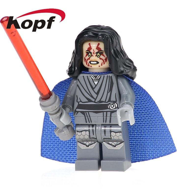 20Pcs Building Blocks Jedi Naare Eclipse Fighter Mandalorian Stormtrooper Owen Lars Star Wars Bricks Children Gift Toys PG722
