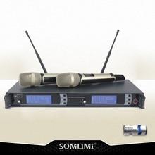 Высокое качество SKM9000 ручной Беспроводной микрофон Профессиональный lavalier Клип микрофон гарнитуры