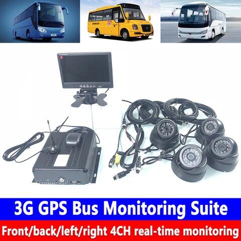 dispositivo de monitoramento remoto canal 3 4g gps de monitoramento de onibus suite suporta 2