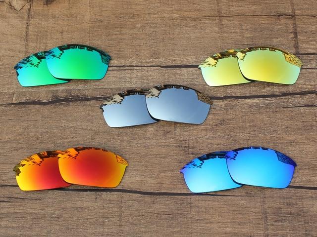 PapaViva POLARIZADA Lentes de Reposição para óculos de Sol Flak Jacket 100%  UVA   Uvb a0f40036c7