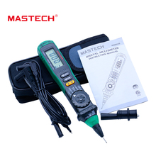 MASTECH MS8211D Auto Range Digital Multimeter Pen-Type Meter DMM Multitester Voltage Current Tester Logic Level Tester