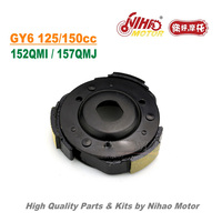 TZ 24 125cc Racing Clutch Shoe Plate GY6 Parts Chinese Scooter Motorcycle 152QMI 157QMJ Engine Spare Nihao Motor