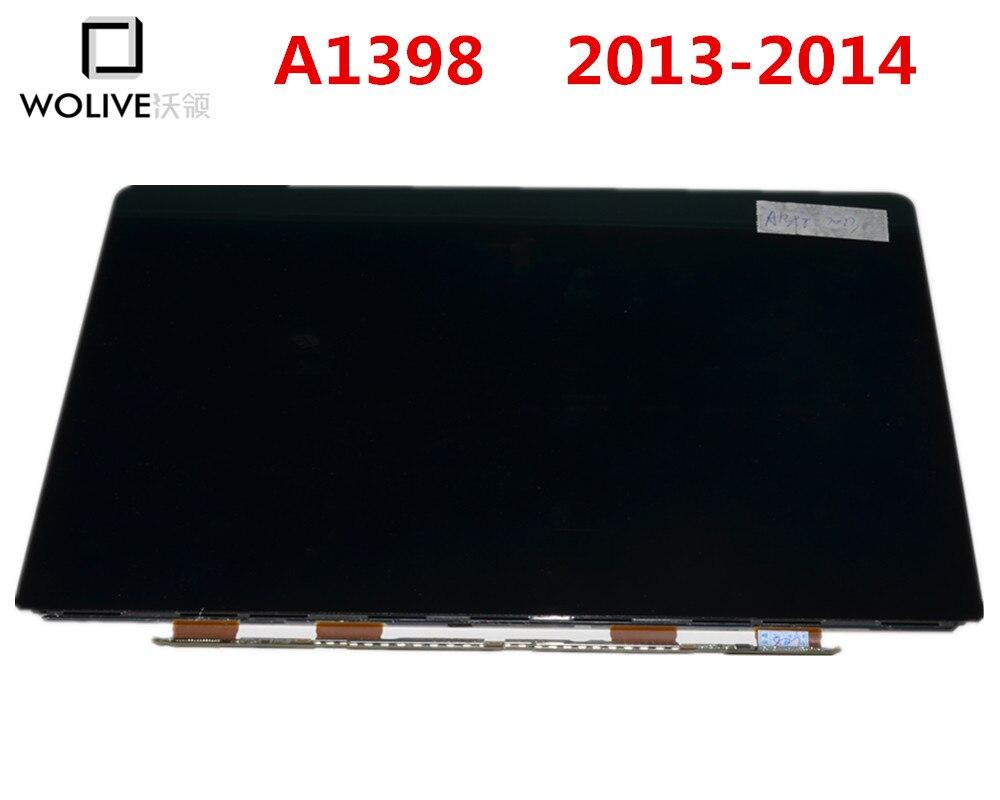 100% Nouveau Véritable pour Macbook Pro Retina A1398 LCD Écran d'affichage 15 ''2013 2014 Année