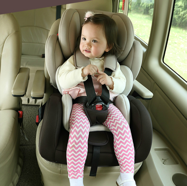 Portable Thicken Baby Car Seat Adjustable Shockproof Child Kids Safety Seat 9 months-12 years old Baby Auto Seat Chair C01 high quality portable baby car seat 3 12 year old child kids safety seat shock absorbing secure chair auto seat for children c01