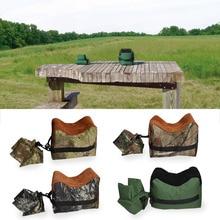 Портативная съемка заднего пистолета, сумка для отдыха, передняя и задняя скамейка, сумка для отдыха, винтовка, ненаполненная подставка, Аксессуары для тренировок