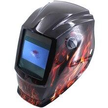Crâne du feu Hors de contrôle Grande vue eara 4 arc capteur Solaire auto assombrissement TIG MIG MMA masque de soudage/casque/soudeur cap/lentille/visage masque