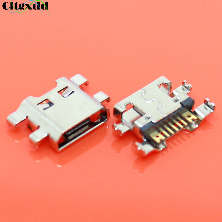 Cltgxdd 1pcs Mini USB Charger Charging Port For LG K10 K420 K428 Micro USB Jack Socket Connector Dock Plug Repair Replacement