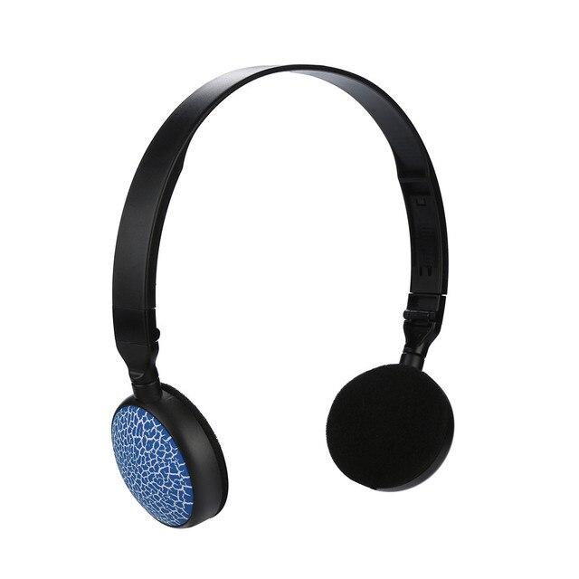 3.5MM Port Children Wire Headphones On Ear Foldable Stereo Headset For Earphon 3