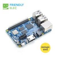 S905 Development Board NanoPi K2 Onboard WiFi Bluetooth Gigabit Network 2G Memory Support 4K Playback