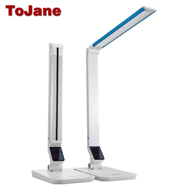 ToJane TG199S Schreibtisch Lampe 10 Watt Führte Leselampe Aluminiumlegierung LED Tischlampen Für Schlafzimmer Vielzahl Helligkeit Led Schreibtisch lampe