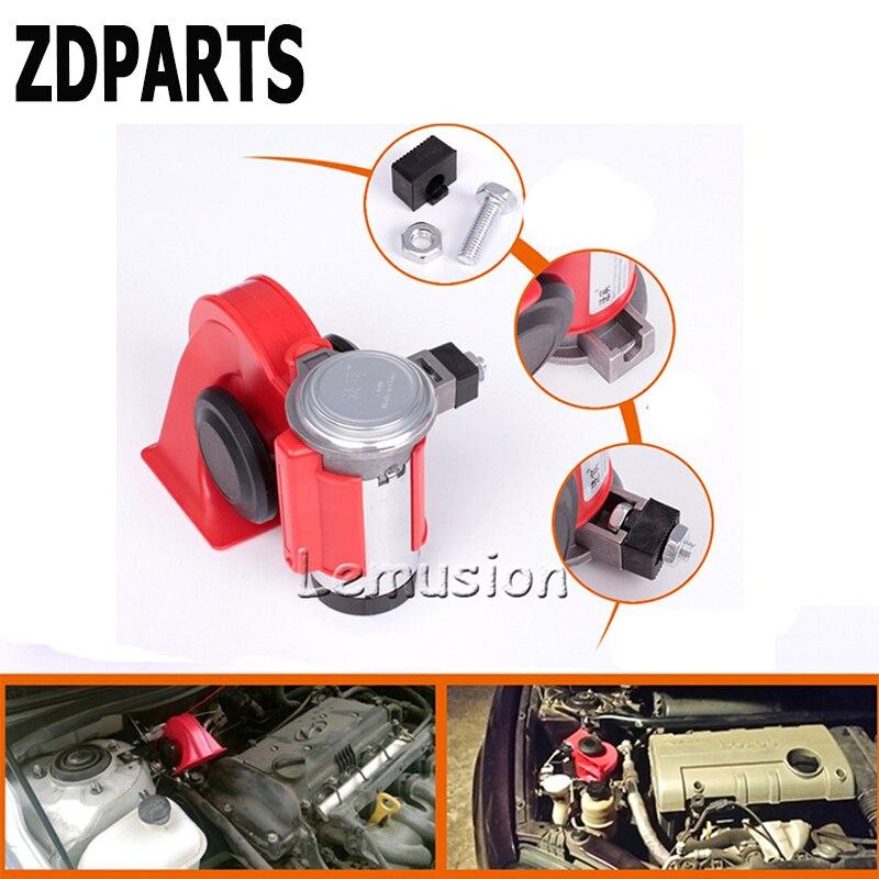 ZDPARTS For VW Passat B5 B6 B7 Golf 4 7 6 T5 T4 Polo Mazda 3 6 CX-5 CX-3 Jeep Car Automobiles 12V 130db Two-Tone Snail Air Horn golf 3 td 2011